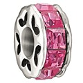 Chamilia Sterling Silver Pink Sparkle Bead - Product number 1060295