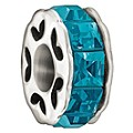 Chamilia Sterling Silver Blue Sparkle Bead - Product number 1060333