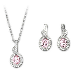 Swarovski Tyra light rose crystal set - Product number 1061623