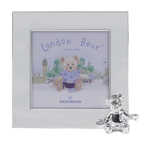 Wedgwood Silver Bear photo frame