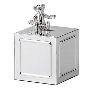 Wedgwood Silver Bear Money Box - Product number 1063405