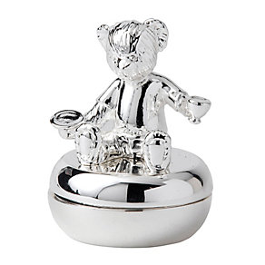 Wedgwood Silver Bear Tooth box - Product number 1063421