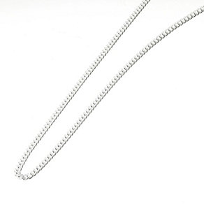 "Sterling Silver 18"" Curb Chain Necklace - Product number 1070673"