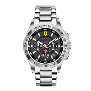 Ferrari men's stainless steel bracelet watch - Product number 1097547