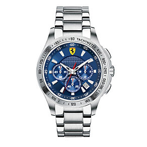 Ferrari men's stainless steel bracelet watch - Product number 1097598