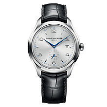 Baume & Mercier Clifton men's automatic black strap watch - Product number 1103431