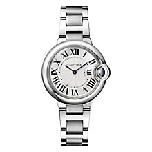 Cartier Ballon Bleu ladies' stainless steel bracelet watch - Product number 1107666