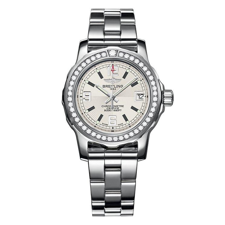 Breitling Colt 33 ladies' diamond steel bracelet watch - Product number 1107704