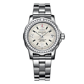 Breitling Colt 33 ladies' diamond steel bracelet watch - Product number 1107704