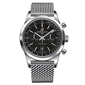 Breitling Transocean Chronograph men's bracelet watch - Product number 1107747