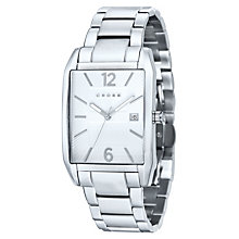 Cross Gotham Men's White Dial Stainless Steel Bracelet Watch - Product number 1109197