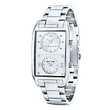 Cross Gotham Men's Dual Time Stainless Steel Bracelet Watch - Product number 1109235