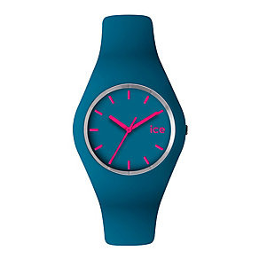 Ice-Watch Ladies' Blue & Pink Silicone Strap Watch - Product number 1109707