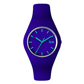 Ice-Watch Ladies' Purple & Blue Silicone Strap Watch - Product number 1109723