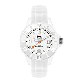 Ice-watch Mini Ladies' White Silicone Strap Watch - Product number 1109758