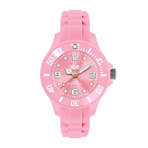Ice-watch Mini Ladies' Pink Silicone Strap Watch - Product number 1110543