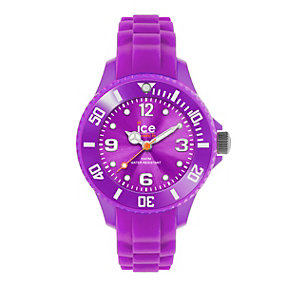 Ice-watch Mini Ladies' Purple Silicone Strap Watch - Product number 1110551