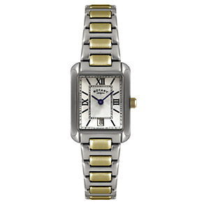 Rotary ladies' two colour white bracelet watch - Product number 1110683