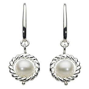 Kit Heath Nestled sterling silver pearl drop earrings - Product number 1114506