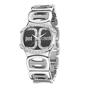 Just Cavalli Ladies' Crystal Stainless Steel Bracelet Watch - Product number 1114832