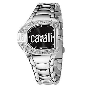 `Just Cavalli Ladies' Crystal Stainless Steel Bracelet Watch - Product number 1114905