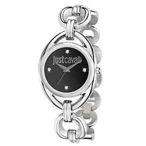Just Cavalli Ladies' Crystal Stainless Steel Bracelet Watch - Product number 1114921