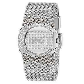 Just Cavalli Ladies' Rich Crystal Steel Bracelet Watch - Product number 1114948