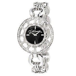 Just Cavalli Ladies' Multi Logo Steel Bracelet Watch - Product number 1114980