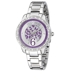 Just Cavalli Ladies' Crystal Stainless Steel Bracelet Watch - Product number 1115006