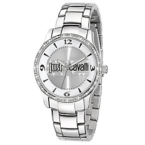 Just Cavalli Ladies' Crystal Stainless Steel Bracelet Watch - Product number 1115057