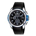 Citizen Eco-Drive Men's Steel Black Rubber Strap Watch - Product number 1116185