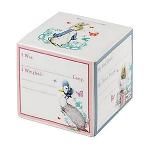 Peter Rabbit New Baby Money Box - Product number 1116258