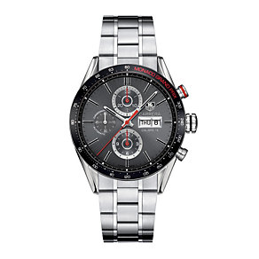 TAG Heuer Carrera men's stainless steel bracelet watch - Product number 1120603