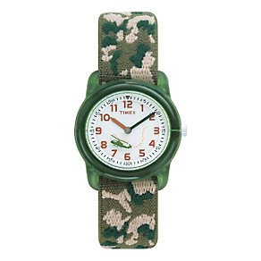 Timex Kidz Boy's Camouflage Fabric Strap Watch - Product number 1120670
