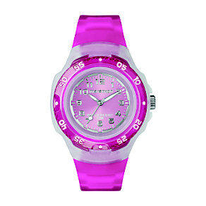 Timex Marathon Child's Bright Pink Strap Watch - Product number 1120697