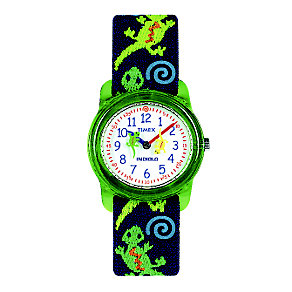 Timex Kidz Child's Gecko Fabric Strap Watch - Product number 1120867