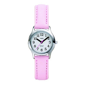 Timex Girl's Pale Pink Strap Watch - Product number 1120913