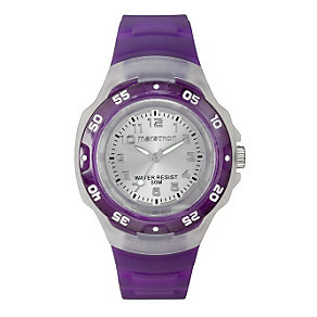 Timex Marathon Child's Dark Purple Strap Watch - Product number 1120956