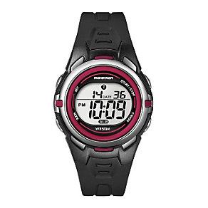 Timex Marathon Child's Black & Red Digital Strap Watch - Product number 1121006
