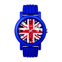 Timex Camper Child's Union Jack Strap Watch - Product number 1121480