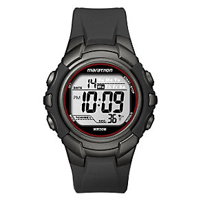 Timex Marathon Child's Black Digital Strap Watch - Product number 1122150