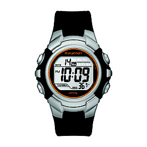 Timex Marathon Child's Black & Silver Digital Strap Watch - Product number 1122266