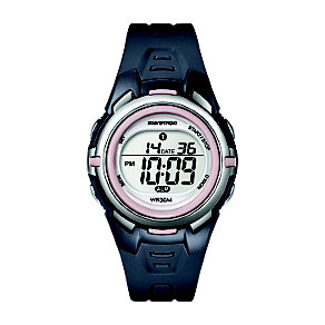 Timex Marathon Child's Grey & Pink Digital Strap Watch - Product number 1122290