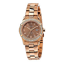 Accurist Ladies' Rose Gold-Plated Bracelet Watch - Product number 1123173