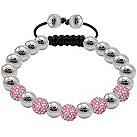 Tresor Paris Blush 8mm pink crystal bracelet - Product number 1126660