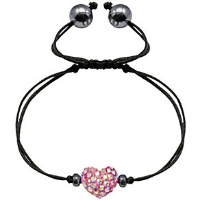 Tresor Paris pink crystal heart bracelet - Product number 1126679