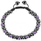 Tresor Paris lilac crystal bracelet - Product number 1126784