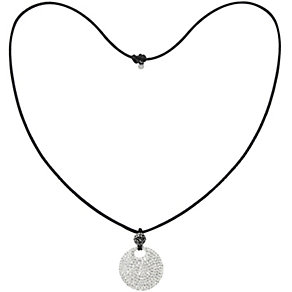 Tresor Paris white & grey crystal necklace - Product number 1126814