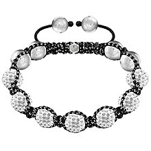 Tresor Paris 10mm white crystal bracelet - Product number 1126857