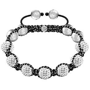 Tresor Paris 10mm white crystal bracelet - Product number 1126857